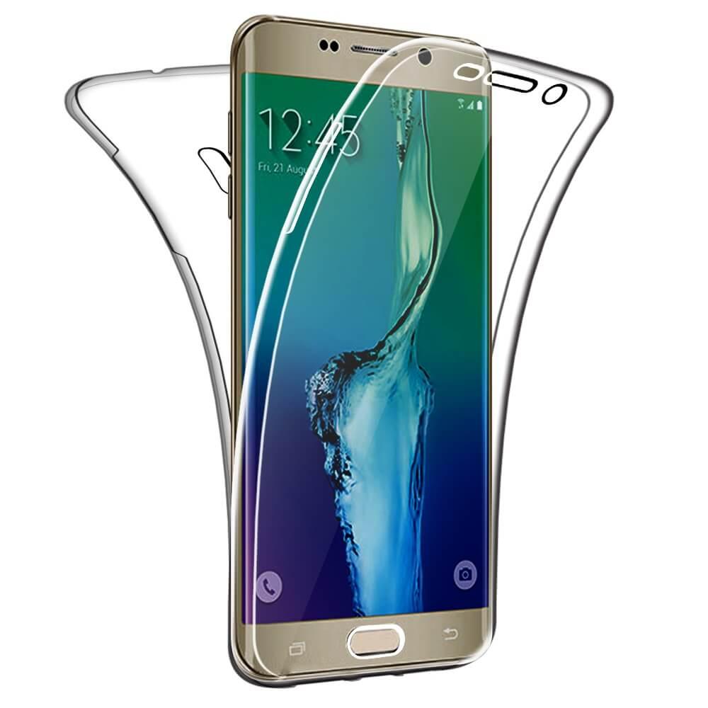 Sdtek Schutzhulle Fur Samsung Galaxy S6 Edge Plus 360 Full Body Cover Soft Hulle