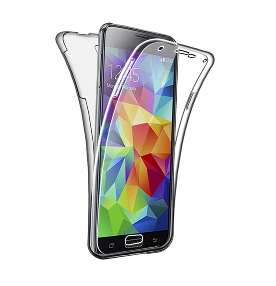 Coque pour Samsung Galaxy S5 / S5 Neo Silicone 360 Degres Protection